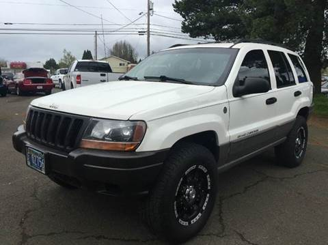 2000 Jeep Grand Cherokee for sale at Xtreme Truck Sales in Woodburn OR