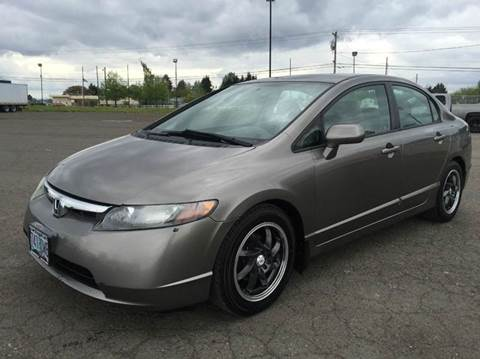 2006 Honda Civic for sale at Xtreme Truck Sales in Woodburn OR