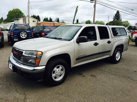 2004 GMC Canyon for sale at Xtreme Truck Sales in Woodburn OR