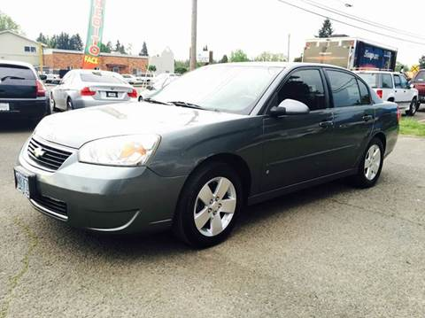 2006 Chevrolet Malibu for sale at Xtreme Truck Sales in Woodburn OR
