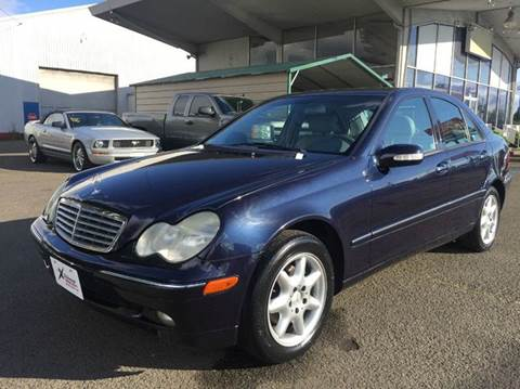 2001 Mercedes-Benz C-Class for sale at Xtreme Truck Sales in Woodburn OR
