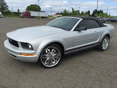 2007 Ford Mustang for sale at Xtreme Truck Sales in Woodburn OR