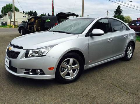 2012 Chevrolet Cruze for sale at Xtreme Truck Sales in Woodburn OR