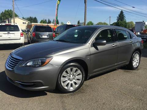 2012 Chrysler 200 for sale at Xtreme Truck Sales in Woodburn OR