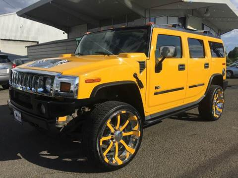 2004 HUMMER H2 for sale at Xtreme Truck Sales in Woodburn OR