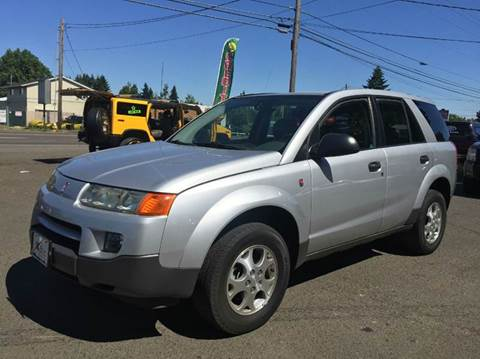 2003 Saturn Vue for sale at Xtreme Truck Sales in Woodburn OR