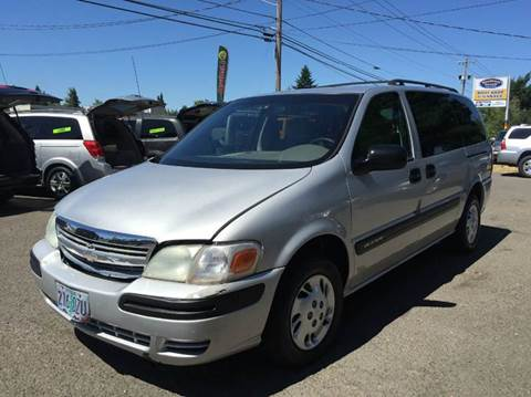 2002 Chevrolet Venture for sale at Xtreme Truck Sales in Woodburn OR