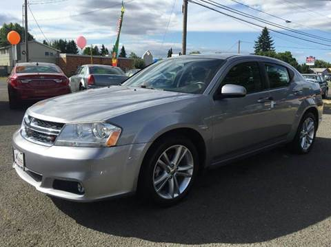 2014 Dodge Avenger for sale at Xtreme Truck Sales in Woodburn OR