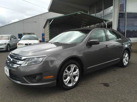 2012 Ford Fusion for sale at Xtreme Truck Sales in Woodburn OR