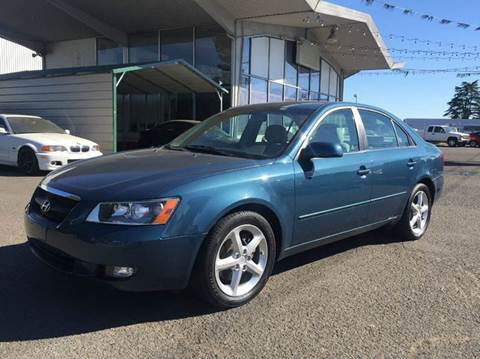 2007 Hyundai Sonata for sale at Xtreme Truck Sales in Woodburn OR