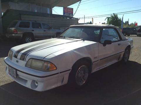 1989 Ford Mustang for sale at Xtreme Truck Sales in Woodburn OR