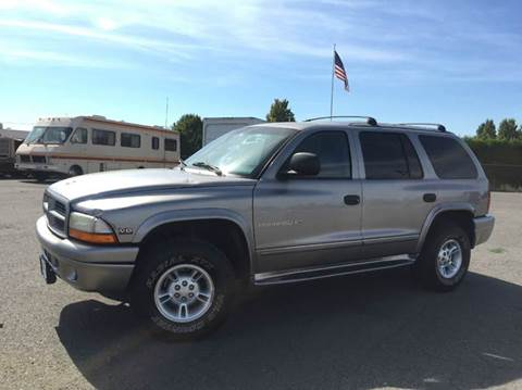 1999 Dodge Durango for sale at Xtreme Truck Sales in Woodburn OR