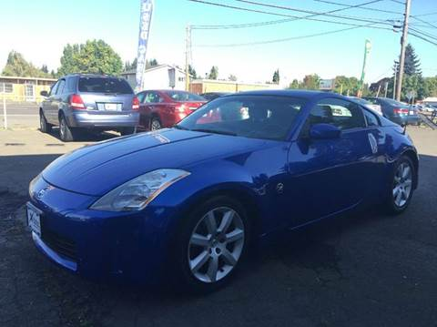 2004 Nissan 350Z for sale at Xtreme Truck Sales in Woodburn OR