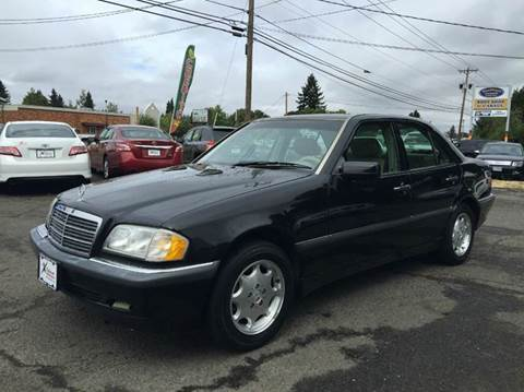 2000 Mercedes-Benz C-Class for sale at Xtreme Truck Sales in Woodburn OR