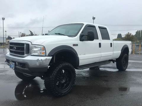 2001 Ford F-350 Super Duty for sale at Xtreme Truck Sales in Woodburn OR