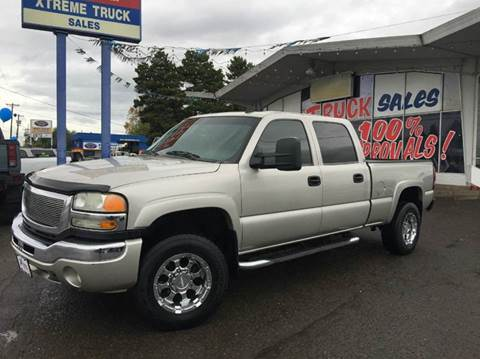 2007 GMC Sierra 2500HD Classic for sale at Xtreme Truck Sales in Woodburn OR