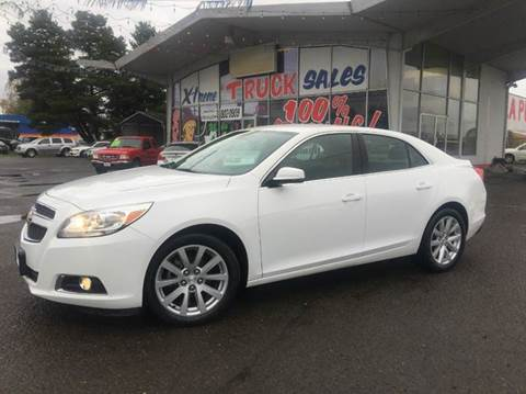2013 Chevrolet Malibu for sale at Xtreme Truck Sales in Woodburn OR