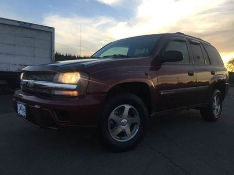 2004 Chevrolet TrailBlazer for sale at Xtreme Truck Sales in Woodburn OR