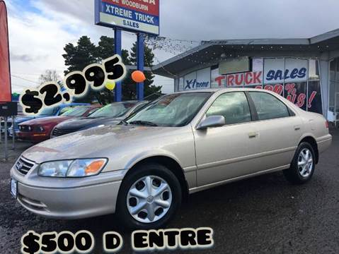 2001 Toyota Camry for sale at Xtreme Truck Sales in Woodburn OR