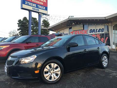 2013 Chevrolet Cruze for sale at Xtreme Truck Sales in Woodburn OR