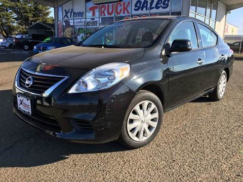 2014 Nissan Versa for sale at Xtreme Truck Sales in Woodburn OR