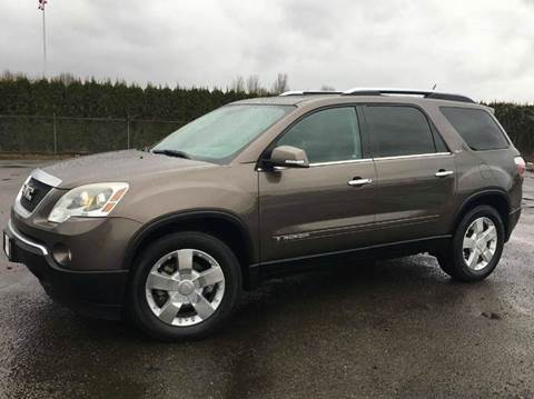 2008 GMC Acadia for sale at Xtreme Truck Sales in Woodburn OR