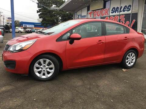 2014 Kia Rio for sale at Xtreme Truck Sales in Woodburn OR