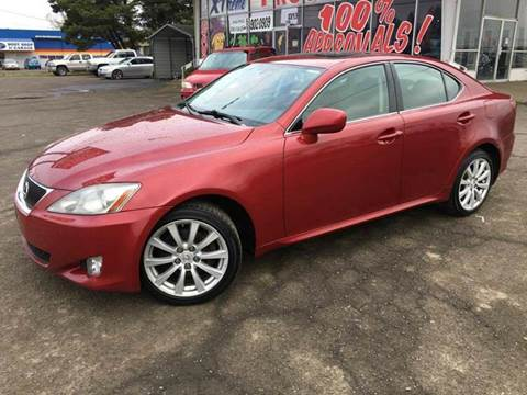 2006 Lexus IS 250 for sale at Xtreme Truck Sales in Woodburn OR