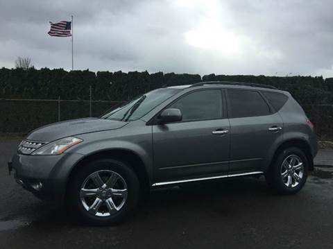 2006 Nissan Murano for sale at Xtreme Truck Sales in Woodburn OR