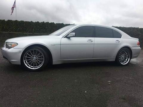 2004 BMW 7 Series for sale at Xtreme Truck Sales in Woodburn OR