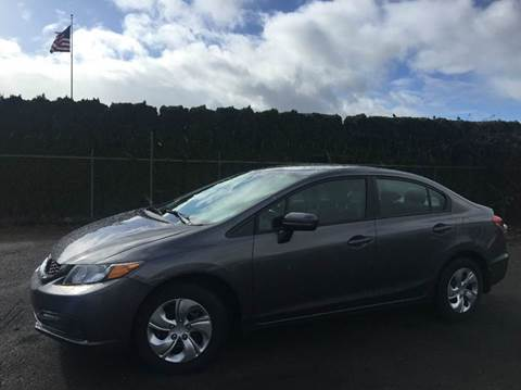 2015 Honda Civic for sale at Xtreme Truck Sales in Woodburn OR