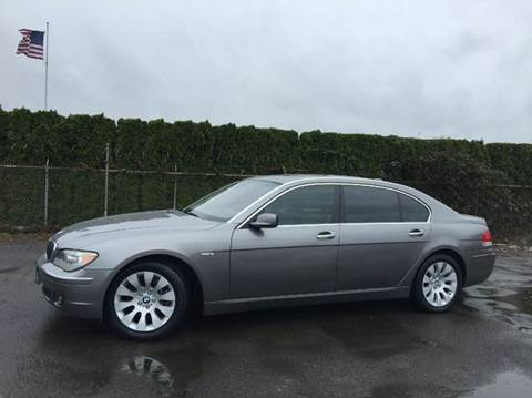 2006 BMW 7 Series for sale at Xtreme Truck Sales in Woodburn OR