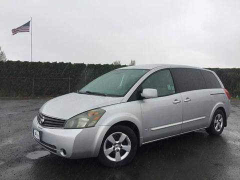 2008 Nissan Quest for sale at Xtreme Truck Sales in Woodburn OR