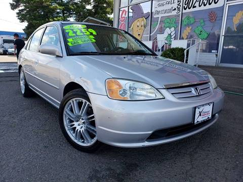 2003 Honda Civic for sale at Xtreme Truck Sales in Woodburn OR