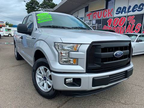 2016 Ford F-150 for sale at Xtreme Truck Sales in Woodburn OR