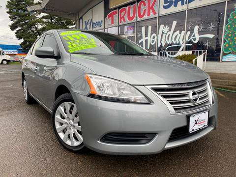 2014 Nissan Sentra for sale at Xtreme Truck Sales in Woodburn OR