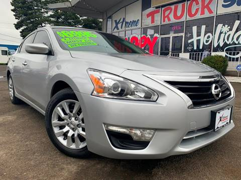 2014 Nissan Altima for sale at Xtreme Truck Sales in Woodburn OR