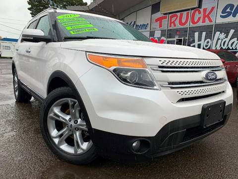 2013 Ford Explorer for sale at Xtreme Truck Sales in Woodburn OR