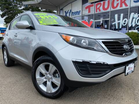 2011 Kia Sportage for sale at Xtreme Truck Sales in Woodburn OR