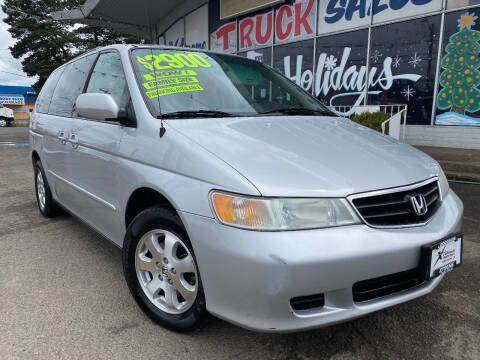 2004 Honda Odyssey for sale at Xtreme Truck Sales in Woodburn OR
