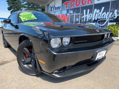 2014 Dodge Challenger for sale at Xtreme Truck Sales in Woodburn OR