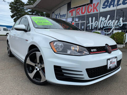 2015 Volkswagen Golf GTI for sale at Xtreme Truck Sales in Woodburn OR