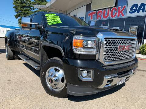 2017 GMC Sierra 3500HD for sale at Xtreme Truck Sales in Woodburn OR