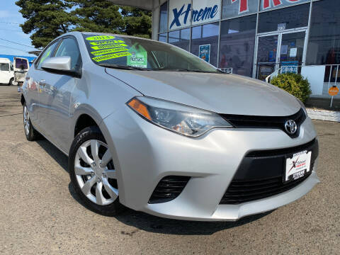 2014 Toyota Corolla for sale at Xtreme Truck Sales in Woodburn OR