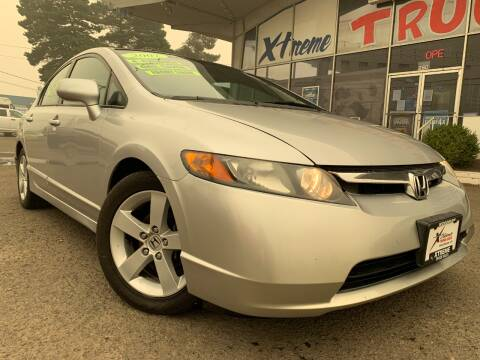 2007 Honda Civic for sale at Xtreme Truck Sales in Woodburn OR