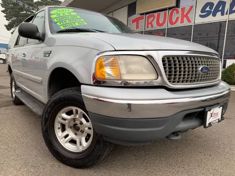 2001 Ford Expedition for sale at Xtreme Truck Sales in Woodburn OR