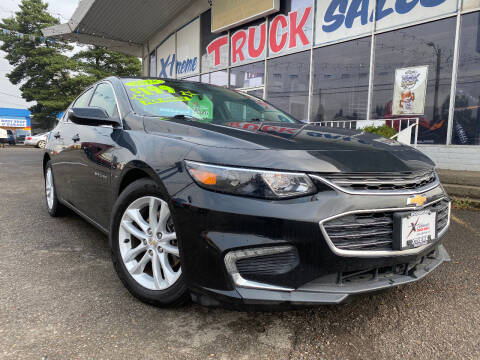 2018 Chevrolet Malibu for sale at Xtreme Truck Sales in Woodburn OR