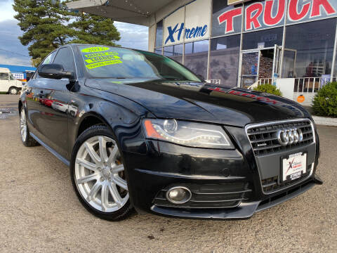 2012 Audi A4 for sale at Xtreme Truck Sales in Woodburn OR