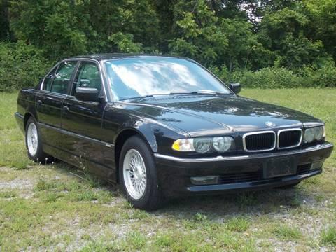 2001 BMW 7 Series for sale at Essen Motor Company, Inc. in Lebanon TN
