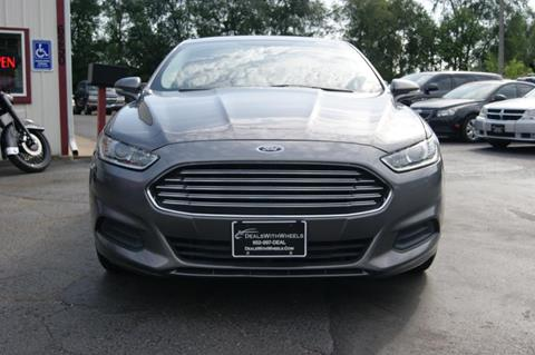 2014 Ford Fusion for sale at Dealswithwheels in Inner Grove Heights MN